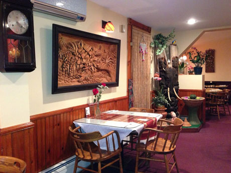 Thai food in Montpelier Vermont